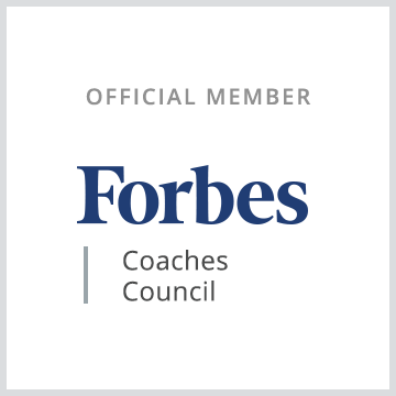 Official member badge for Forbes Coaches Council